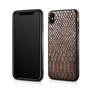 Image 5 - XOOMZ For iPhone XS Max Case Python Snake PU Leather Silicone TPU Slim Full Protection Back Cover For iPhone XS XS MAX XR X Case