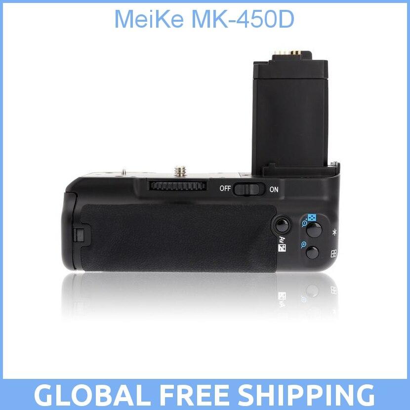 MeiKe MK-450D/BG-E5/BP-500D poignée de batterie pour Canon 450D/rebelle Xsi/baiser X2 500D/rebelle T1i/baiser X3 1000D/rebelle XS/baiser F