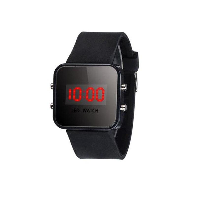 2016 Neue Ankunft 10 Farben Kinder Uhr Unisex Led-bildschirm Digitale Silikonband Mädchen Jungen Relogio Quarzuhr Sport Kinder Handgelenk Uhr