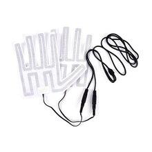 1 пара 12 в зимние уличные теплые варежки нагреватель для мотоциклетных перчаток коврик перчатки с подогревом электронагревательный элемент 18 см
