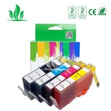 4PK cartucho de tinta совместим para hp 178 para hp 178 178XL Photosmart 5510, 5515, 6510, 7510 B109a B109n B110a impressora