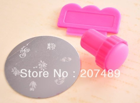 wholesale retail nail painting Stainless Steel kits tools art Salon UV Gel Tips Manicure decorations care