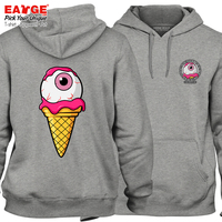 Novelty Cute Teen Trend Funny Streetwear Strawberry Sweet Couple Sweatshirts Pop Fashion Women Men Gray Warm Hoodies