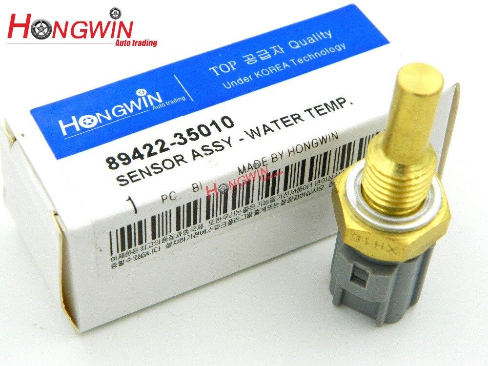 89422-35010 Capteur de Température De L'eau De Refroidissement Adapte Toyota Camry Celica Corolla Chevy RAV4 Lexus ES300 LX450 RX300 RX350 RX400h