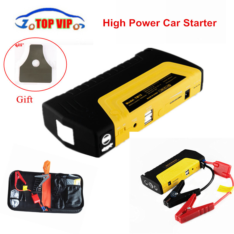 Hot Rated!! notfall Auto Starthilfe mini protable Energienbank Auto Multifunktions-starthilfe Batterie Auto Ladegerät Booster