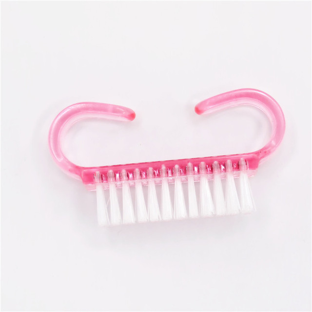 Nail Cleaning Nail Brush Tool File Manicure Pedicure Soft Remove Dust Manicure Tool Clean 2