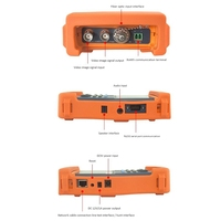Video Camera Tester Ntsc/Pal Display, Ptz Data Test, Utp Cable Tester 3.5 Inch Tft Lcd Digital Multimeter Cctv Tester Pro