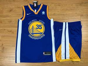 9f629be75 warrior 35 Kevin Durant shirt MAN NIKE Basketball Jersey