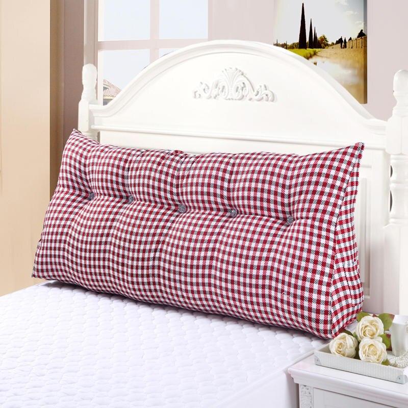 Home Decor Triangle velours Violet lazyback coton coussin de siège Wedge oreiller pour lit dossier dos coussin grande taille