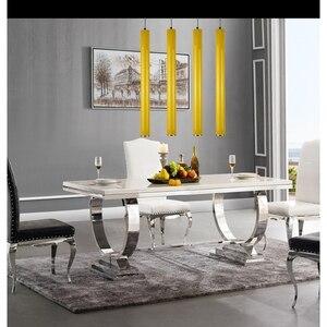 Image 5 - LukLoy подвесной светильник, кухонный остров, столовая, бар, фотолюстра 8 см, цилиндрическая трубка, подвесной светильник, алюминиевый светильник