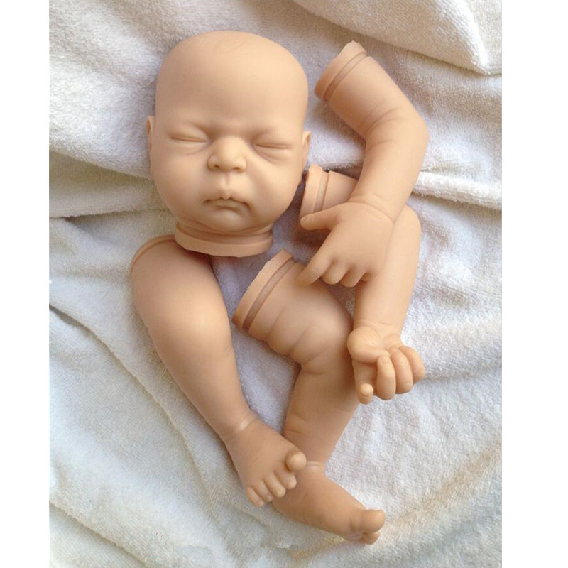 Reborn Doll Kits for 20inches Soft Vinyl Reborn Baby Dolls Accessories for DIY Realistic Toys for DIY Reborn Dolls Kits dk-8
