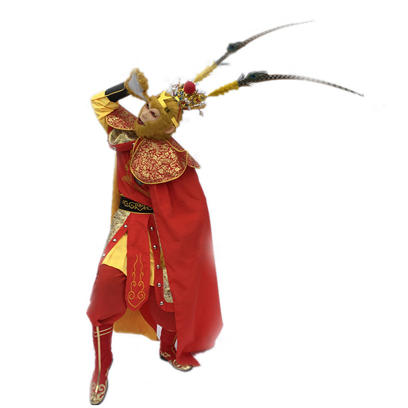 New Style Sun Wukong Cosplay Costumes Monkey Costumes Sun Wukong Costume Funny Cosplay Halloween Cosplay A Complete Range Of Specifications Boys Costumes Costumes & Accessories