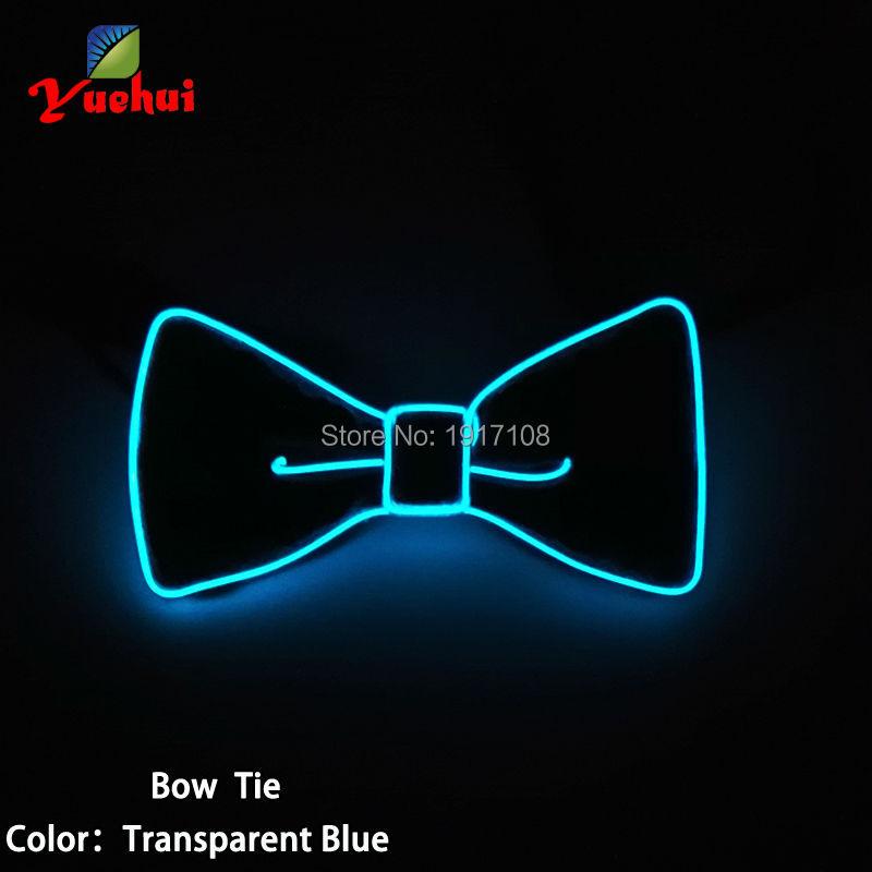 2017 Novi dizajn Moda svjetlo 10 Boja svjetlo Gore LED luk kravata - Za blagdane i zabave - Foto 3