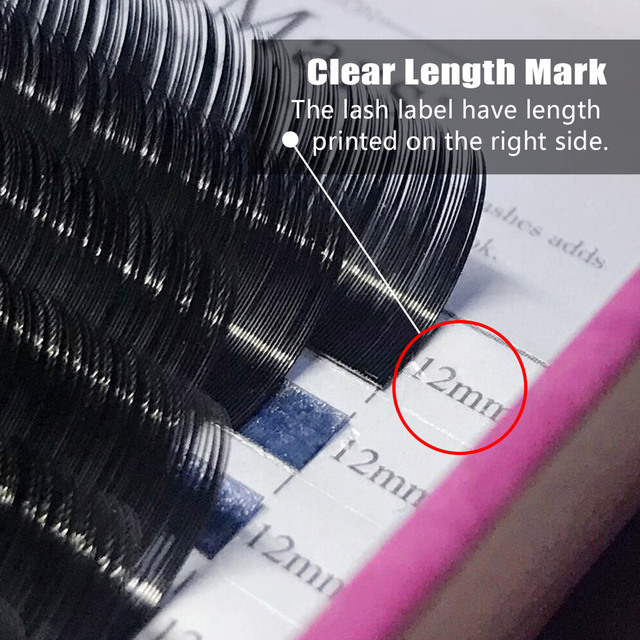 DeceMars 0.05mm épaisseur J B C D CURL Extension de cils pour greffer cils vison cils doux naturel cils