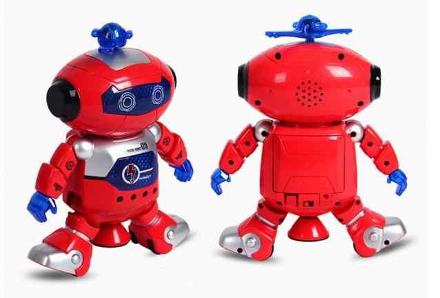 ¡Novedad de 2018! robot espacial inteligente de baile electrónico para caminar CHAMSGEND, astronauta, juguetes de luz musical para niños Nov29 2018