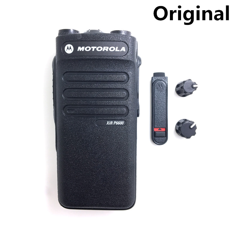 1Pcs Front Outer Case Housing Cover Shell For Motorola XIR-P3688 Walkie Talkie S