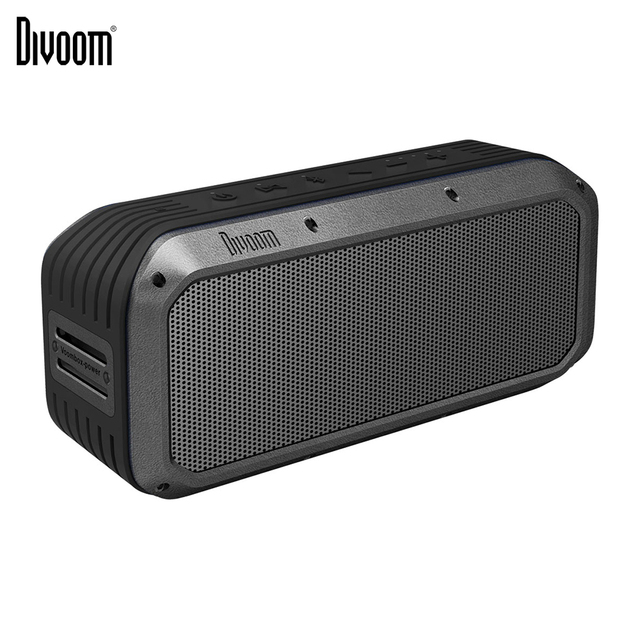 Divoom Voombox Power Portable  Bluetooth Speaker Wireless Speaker TWS 30w Heavy bass NFC 10m with 6000 mAh  and IPX5 Waterproof