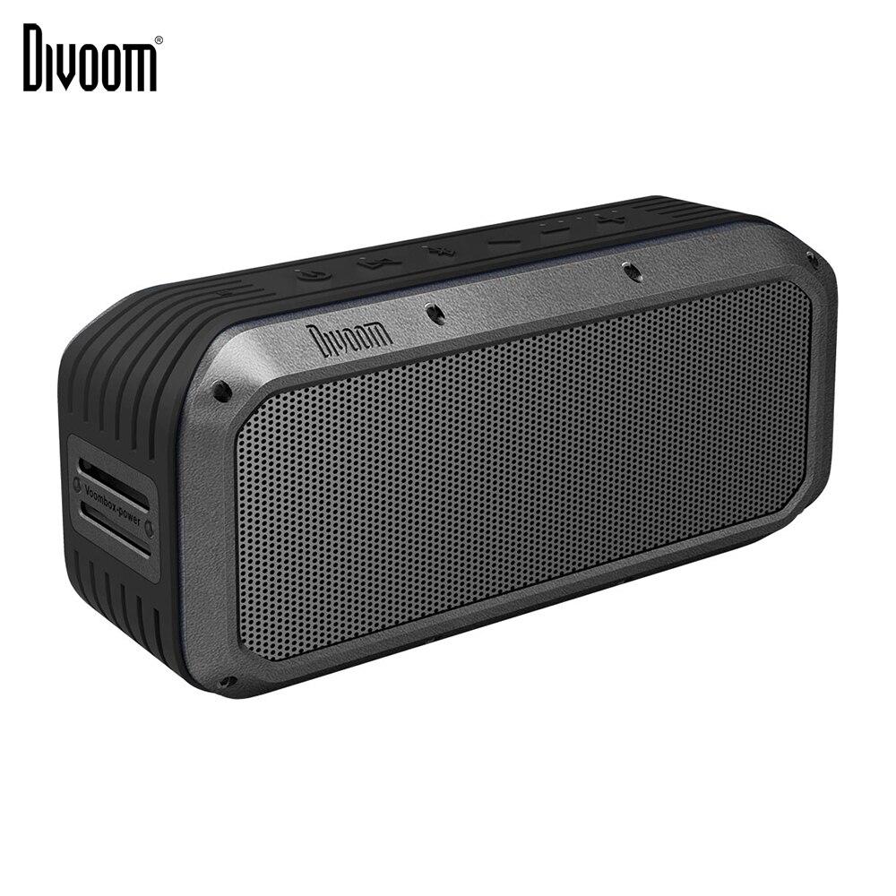 Haut-parleur sans fil portatif de Bluetooth de puissance de Voombox de Divoom TWS 30 w basses lourdes NFC 10 m avec 6000 mAh et IPX5 imperméables