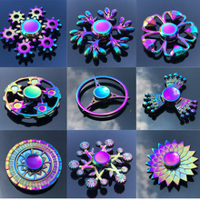 EDC Hand Finger Fidget Spinner With Diamonds Rare Unique Model Fish Bird Spiner Quiet Stress Reducer Gift Toys For Autism & ADHD