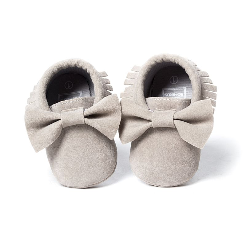 Baby Soft Tassel Girls Bow Moccs Soft sole Infants Girl shoes Tassel Shoes SL07 ...