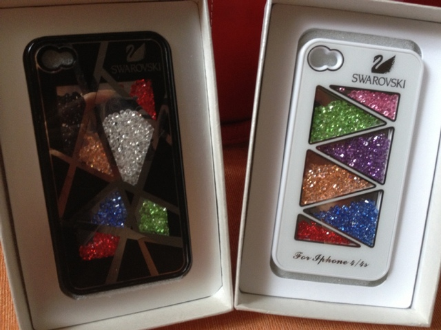 Colorful Bling Movable Crystal Back Cover Bling Deluxe design Case for iphone 4 4S 4G 5G  5 with retail package