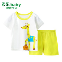 Summer Newborn Baby Boy Girl Clothes Set For Girls 2pcs Baby Boys Clothing Sets 100 Cotton