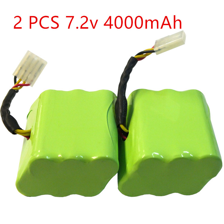 цены Free Shipping 2 Piece 7.2v 4000mAh Battery for Neato XV-11 XV-12 XV-14 XV-15 XV-21 Vacuum Cleaner Battery