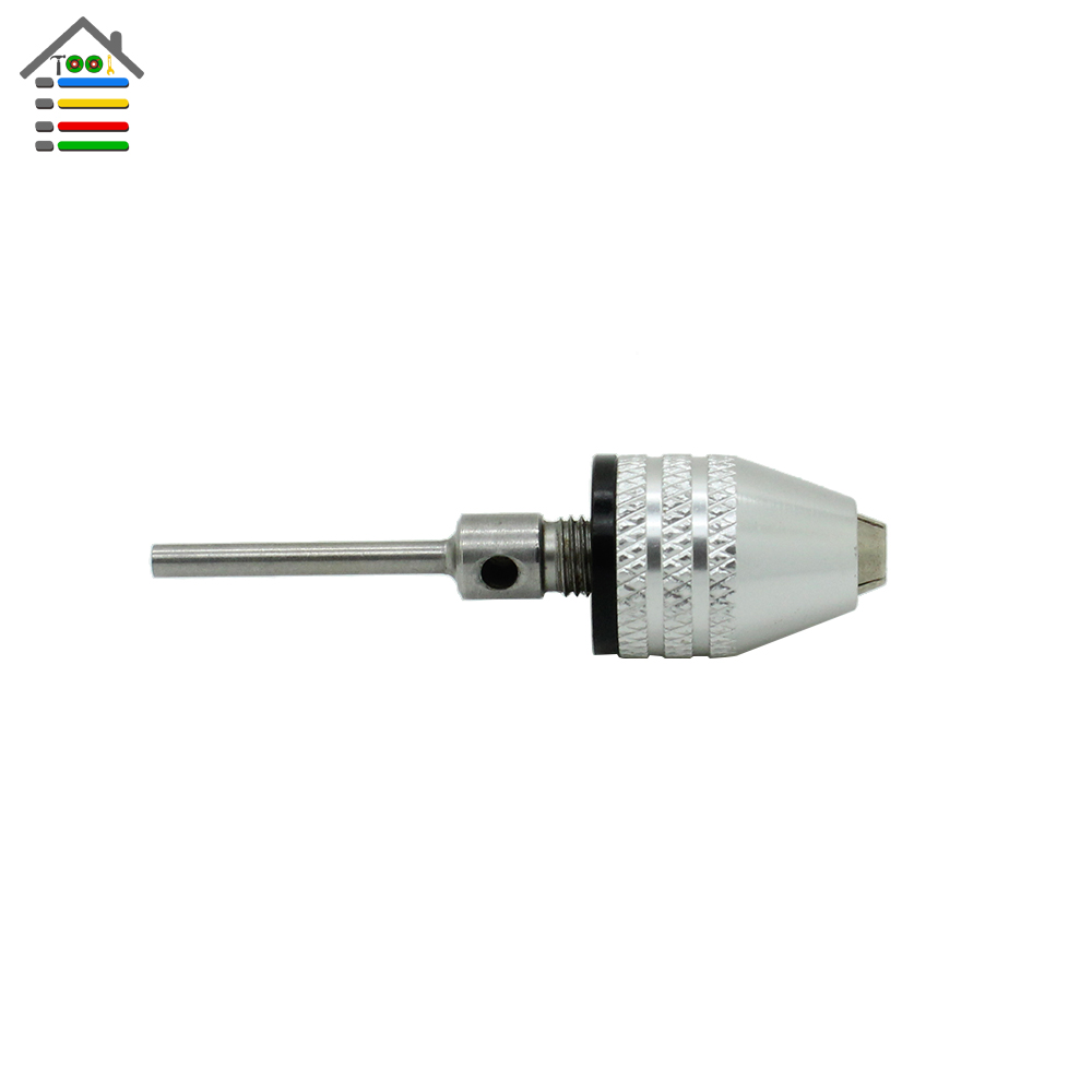 AUTOTOOLHOME 0.5-4mm Keyless Drill Chucks Electric Grinder Quick Change Adapter Converter with 2.3mm Shank Shaft Rotary Tools