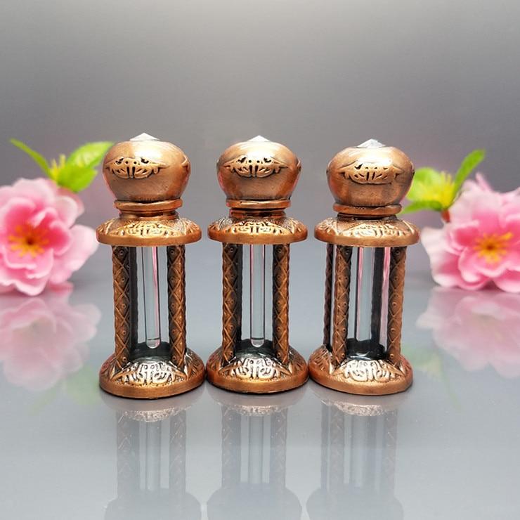 цена  5ml Arabic royal perfume bottles classical vintage bottle glass,ancy arab oil perfume bottle w/ dropper Stick  онлайн в 2017 году