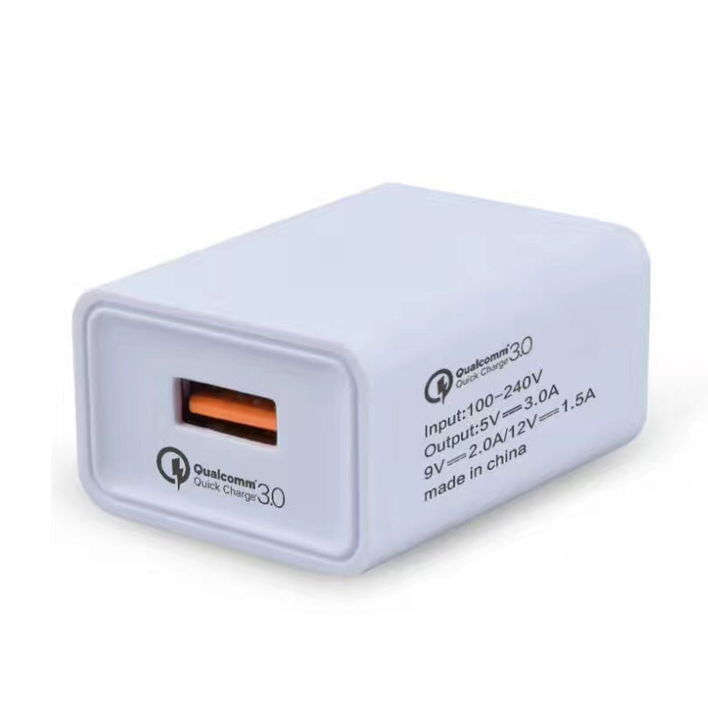 Quick Charge QC3.0 Universal EU/US Plug USB Power Wall Charger Adapter Travel Power Charging Adapter For iPhone Samsung Xiaomi