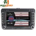 """Bonroad 7 """"емкостный Сенсорный Экран 2 Din Dvd-плеер Автомобиля для VW с радио RDS, Bluetooth, GPS, USB TF Карта 1080 P Видео Бесплатно Карта"""