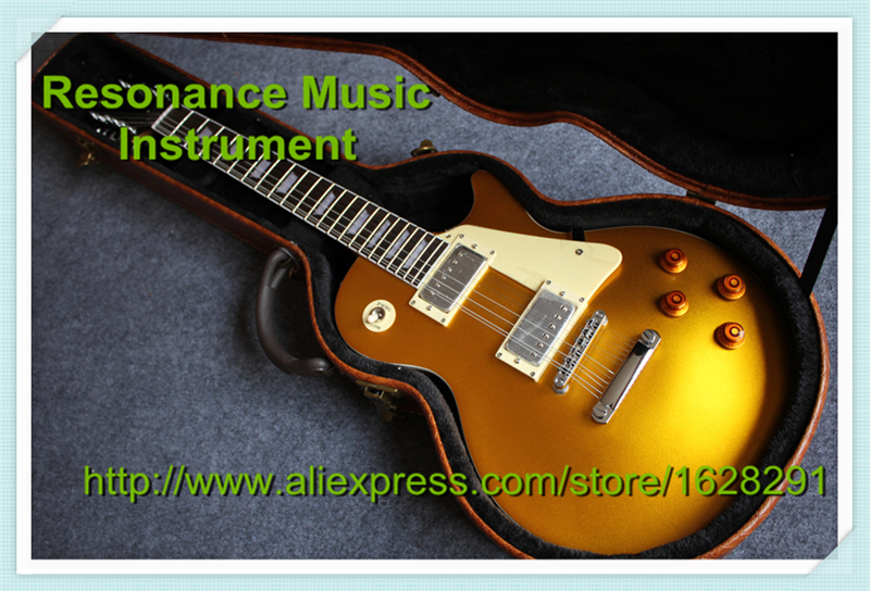 Wholesale and Retail Brown Finish 12 Strings Traditional 22 Frets LP Standard Electric Guitar with Hardcase in Stock free hardcase lp jimmy page standard electric guitar in amber honey burst 101122