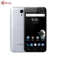 Homtom ht3 mtk6580 quad core טלפון חכם 5.0 inch אנדרואיד 5.1 3 גרם 1.3 GHz 2.5D מסך HD 1 GB RAM 8 GB ROM מצלמות כפולה GPS