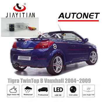 JiaYiTian Rear View Camera for opel Tigra TwinTop B Vauxhall /Vauxhall 2004~2009 CCD Night Vision License Plate Camera/Reverse фото