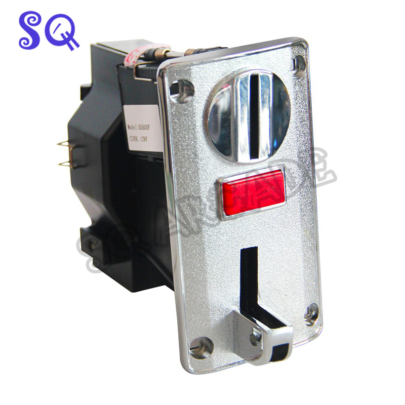 High Quality 6 Coin Types DG600F Multi Coin Acceptor Validator Reader Selector Machine For Vending Machine CPU Coin Selector