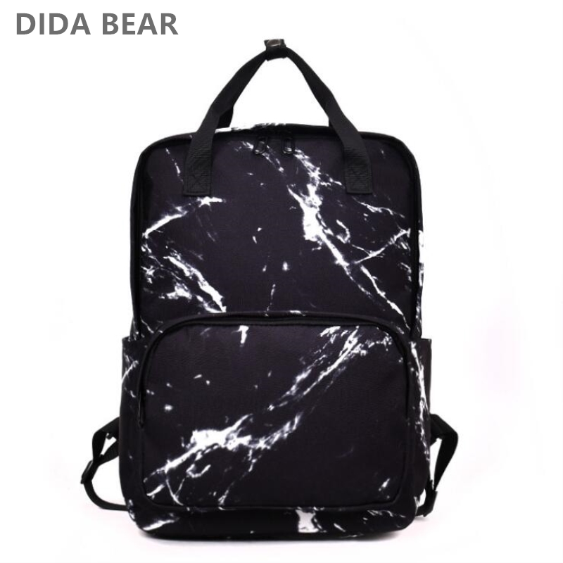 88238d3d3f16 DIDA BEAR Fashion Women Backpacks Female Canvas School Bag For Teenagers  Girls Travel Rucksack Large Space Backpack Sac A Dos