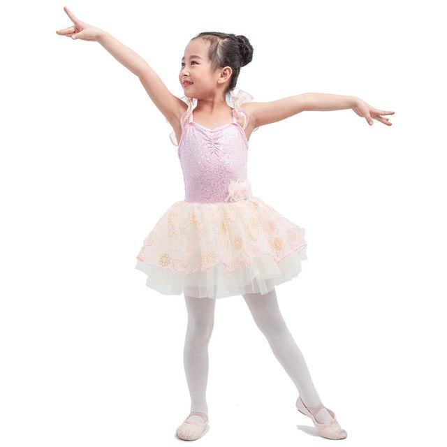 4fd32cb20764 New Lovely Pink Child Camisole Ballet Tutu Girls Ballerina ...