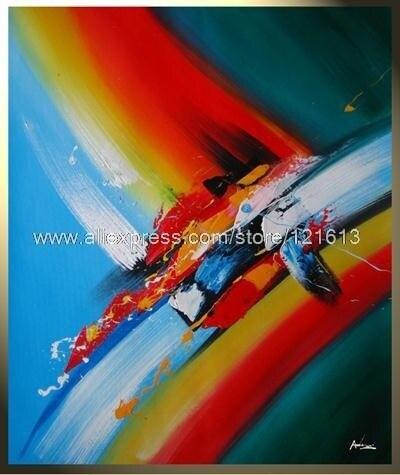 Color Happy Peinture Contemporaine Tableau Moderne Contemporain Oil  Paintings Canvas Painting Ideas Realistic Abstract Paint