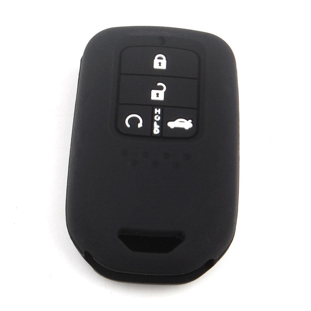 Bbq fuka 50pcs silicone car remote key fob cover case fit for honda 2015 2016