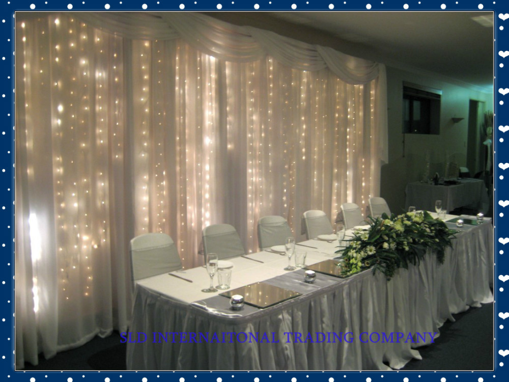Wedding Supplies Christmas Lights Curtain Light 6 X 3 Meters Led String Of Backdrop