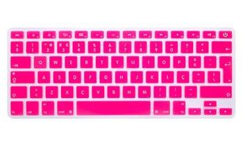 """Portugués para Mac Book Pro Retina Air 13 """"15"""" 17 A1466 Idioma Euro UK teclado de silicona piel teclado cubierta película protectora"""