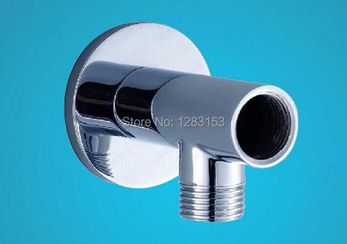 High quality brass shower arm fixed bath bend into the for Quality bathroom fittings