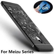 Роскошный Телефон Случае Для Meizu M5 M3 Примечание Pro6 MX6 Высокое качество Мягкие Силиконовые Защитный Чехол Чехлы Для Meilan U10 U20 Shell