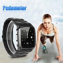Excelvan Bluetooth Health Smartwatch Unlocked SIM Phone Watch Sync Call Pedometer Reminder Smart Electronics For Andriod
