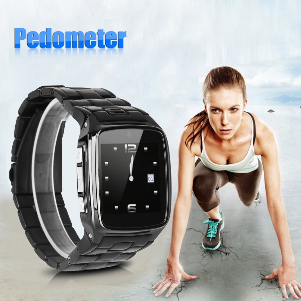 Excelvan Bluetooth Health font b Smartwatch b font Unlocked SIM Phone Watch Sync Call Pedometer Reminder