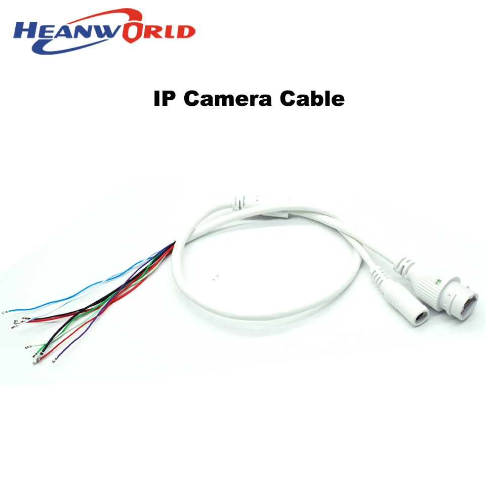 network ip cable for ip camera cable replace cable rj45  u0026 dc12v cable for cctv ip camera replace