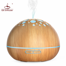 GX.Diffuser 300ml Home Air Humidifier Essential Oil Diffuser Aromatherapy Electric Aroma Diffuser Ultrasonic Mist Maker Purifier цена и фото