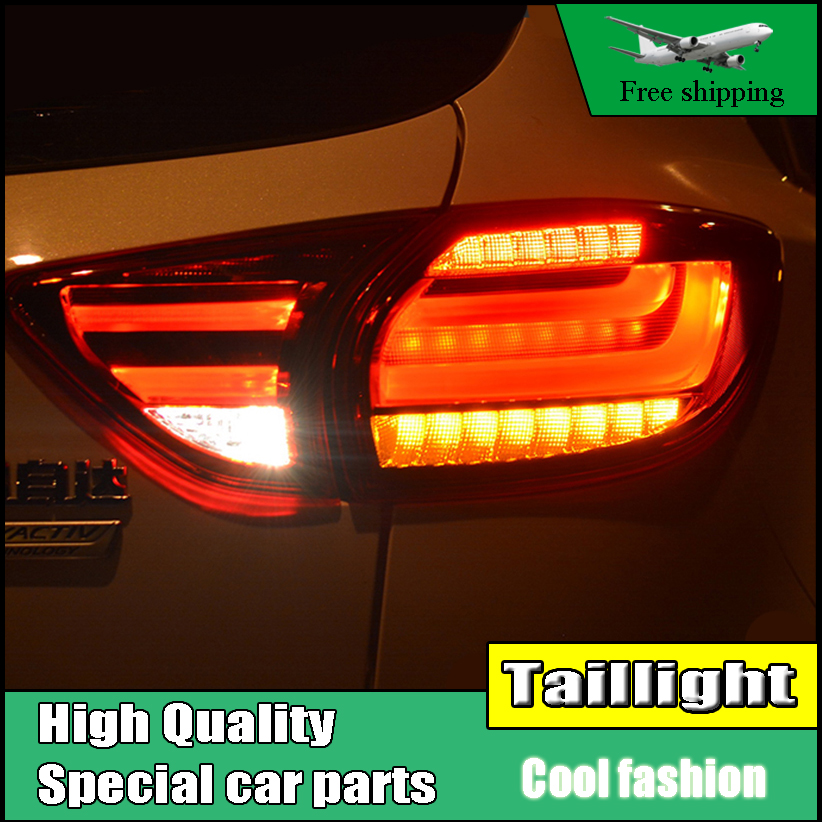 Car Styling TailLight Case For Mazda CX-5 2013 2014 2015 Taillights LED Tail Lamp Rear Lamp DRL+Brake+Park+Signal light car styling tail lamp case for mazda cx 5 2012 2015 tail lights led tail light rear lamp led drl brake park signal