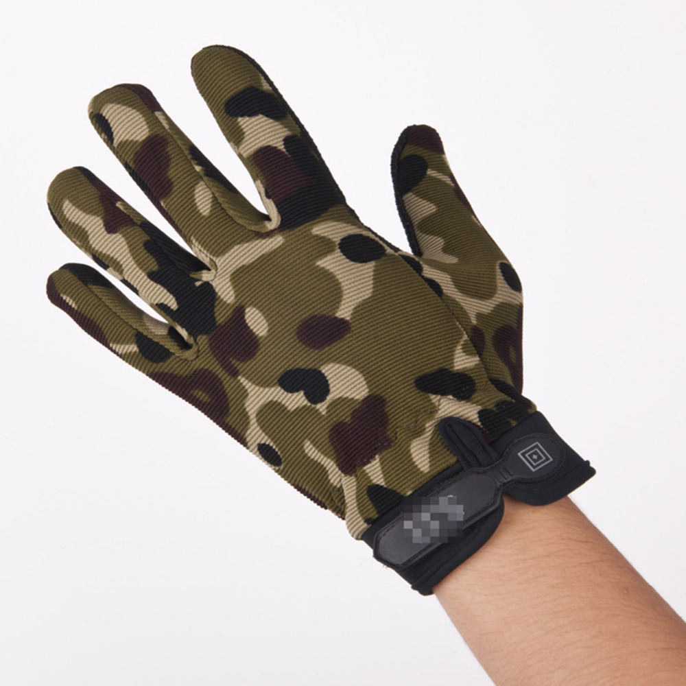 Touch Screen Non-Slip Cycling Gloves Outdoor Winter Mens Womens Bike Mittens Bicycle Riding Nylon Anti-skid Full Finger Gloves