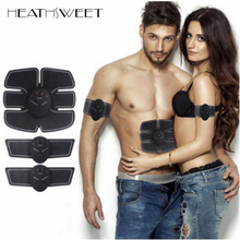 Healthsweet EMS Abdominal Muscle Training Stimulator Device Wireless Belt Gym Professional Body Slimming Massager Home Fitness